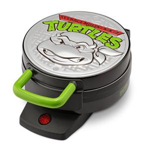 NickelodeonNTWM-43ティーンエイジミュータントニンジャタートルズラウンドワッフルメーカー Nickelodeon NTWM-43 Teenage Mutant Ninja Turtles Round Waffle Maker