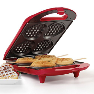 Holstein HousewaresHF-09031Rハートワッフルメーカー-赤 Holstein Housewares HF-09031R Heart Waffle Maker - Red