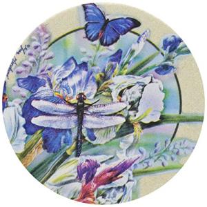 Thirstystone Drink Coaster Set 安売り and Iris ◆高品質 Dragonfly I