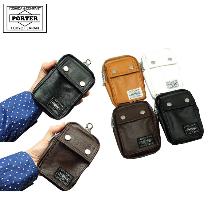 吉田カバン ポーター PORTER ポーターバッグ フリースタイル ポーチ iPhone・携帯電話・デジタルカメラなどの 収納に最適なサイズ。 707-08224 吉田かばん 【あす楽対応】