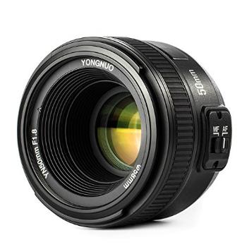 YONGNUO ショップ YN50mm F1.8N 単焦点レンズ 標準レンズ Fマウント フルサイズ対応 ニコン 激安通販