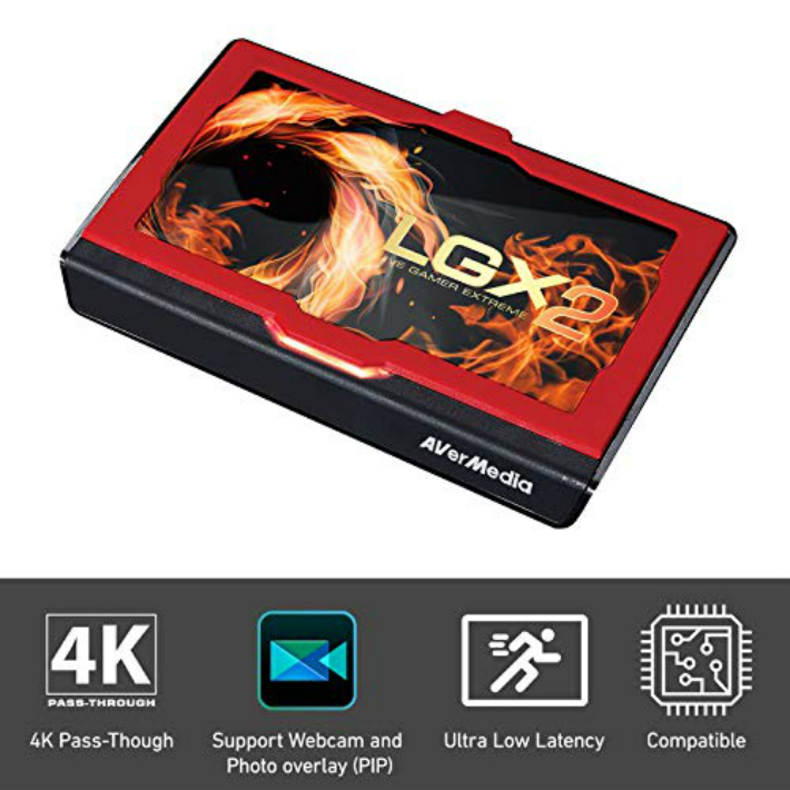好評受付中 1位 AVerMedia Live Gamer EXTREME 2 ランキングTOP5 ゲームキャプチャーボックス GC551 海外正規品 送料無料 4Kパススルー対応