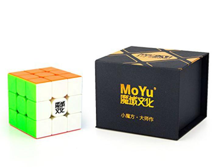 MoYu 3x3x3 ショップ Weilong GTS2M スピードパズルキューブ 人気 おすすめ ブライトステッカーレス マジックキューブ