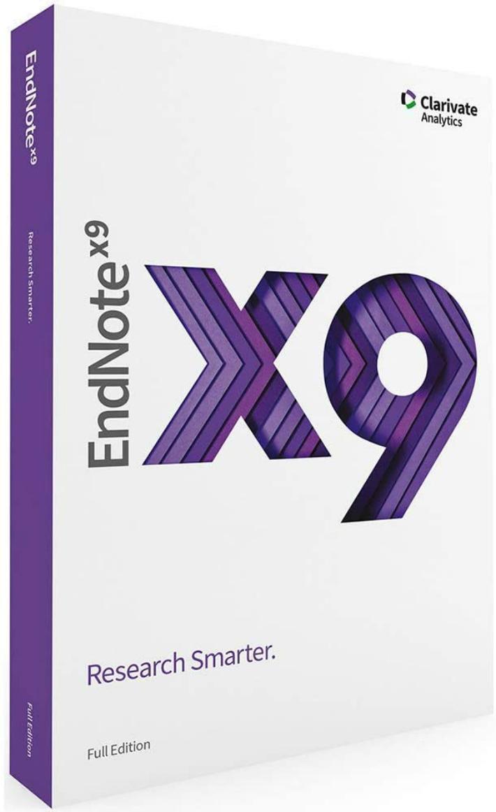 EndNote X9 Full Edition Windows CD-ROM 本物◆ 英語版 海外正規品 Mac 贈り物