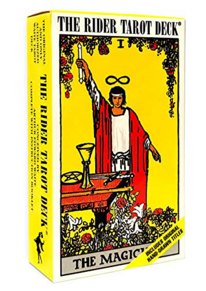 The Rider 春の新作 Tarot Deck ライダータロットデック 代引き不可 占い 78枚 ウェイト版 タロットカード