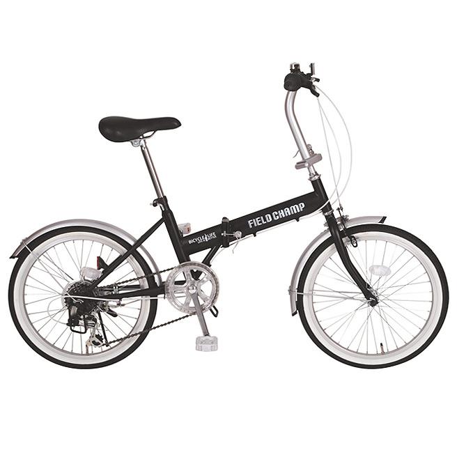 フィールドチャンプ FDB20 6s MG-FCP206 F6060M03 折りたたみ自転車【FIELD CHAMP 自転車 BK MIMUGO ミムゴ】[直送品]