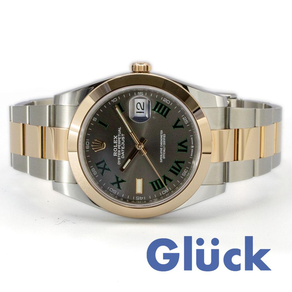 best service 481e2 c51a1 【新品】ロレックス デイトジャスト 41 126301|Gluck