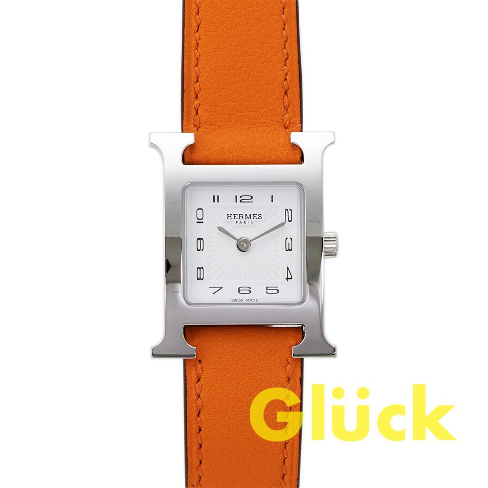 【未使用品】エルメス Hウォッチ W036707WW00 PMサイズ グリュック