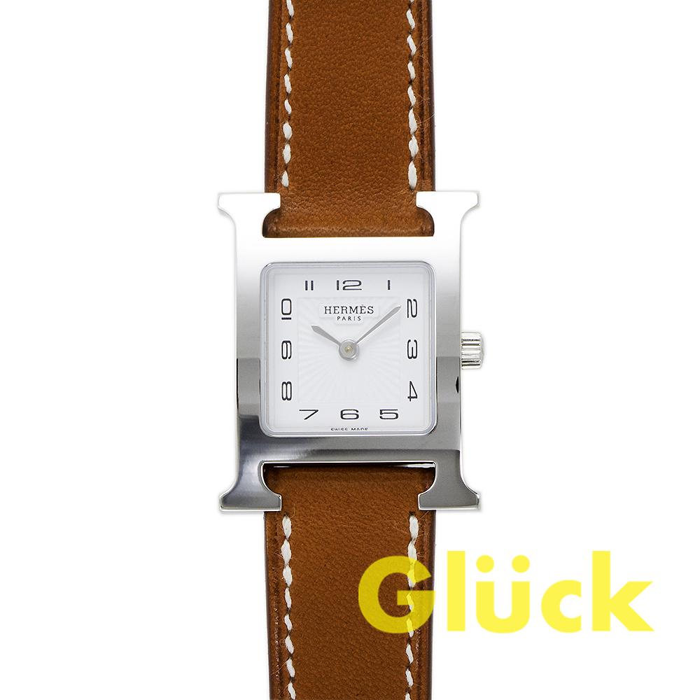 【未使用品】エルメス Hウォッチ W036706WW00 PMサイズ グリュック