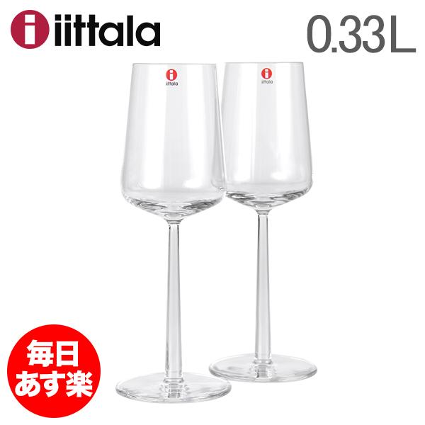 イッタラ ワイングラス エッセンス 330ml 0.33L ホワイトワイングラス クリア アルフレッド ハベリ 北欧 6411929504571 1008567 iittala ESSENCE White wine 2 pcs 新生活 [glv15]