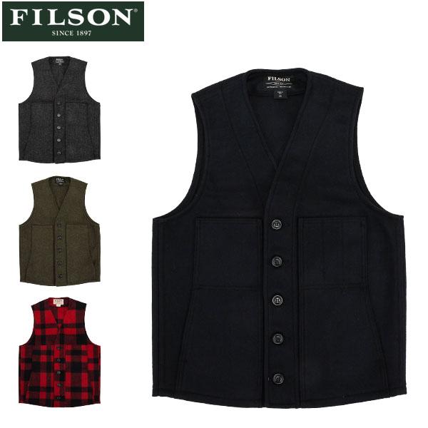 フィルソン FILSON ベスト マッキーノ ウール メンズ MACKINAW WOOL VEST 10055 アメリカ製 ウール アウター インナー [glv15] あす楽