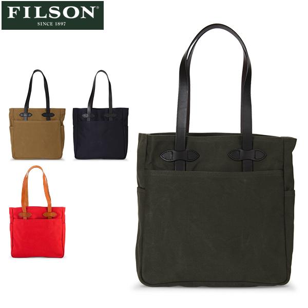 フィルソン FILSON トートバッグ Tote Bag without zipper キャンバス 70260 肩掛け レザー 手提げ メンズ 革 ハンドバッグ [glv15] あす楽