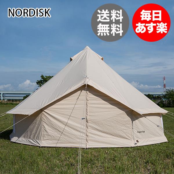 NORDISK ノルディスク Legacy Tents Basic Asgard 12.6 142023 Basic ベーシック テント 2014年モデル 北欧 [glv15]