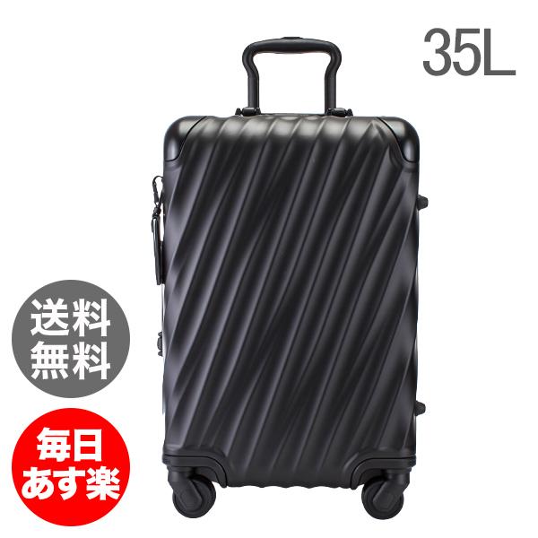 トゥミ TUMI スーツケース 35L 4輪 19 Degree Aluminum コンチネンタル・キャリーオン 036861MD2 マットブラック キャリーケース キャリーバッグ [glv15]