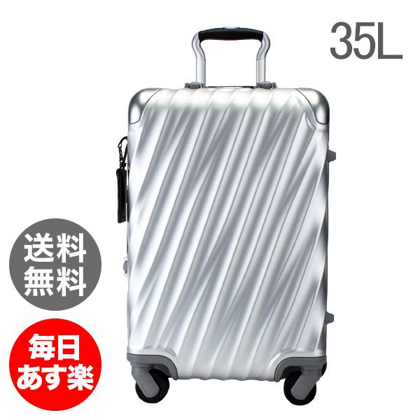 トゥミ TUMI スーツケース 35L 4輪 19 Degree Aluminum コンチネンタル・キャリーオン 036861SLV2 シルバー キャリーケース キャリーバッグ [glv15]