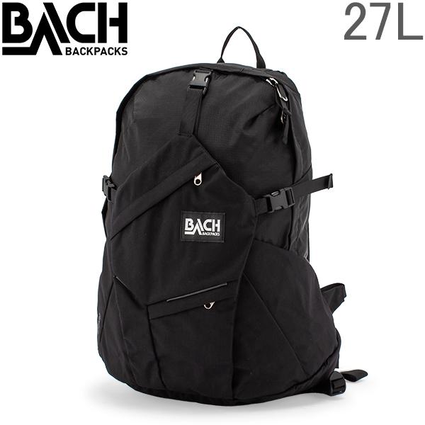 バッハ BACH バックパック 27L リュック リュックサック Wizard 27 ウィザード 127211 ブラック Backpack Black 多機能 ナイロン バック A4 [glv15] あす楽