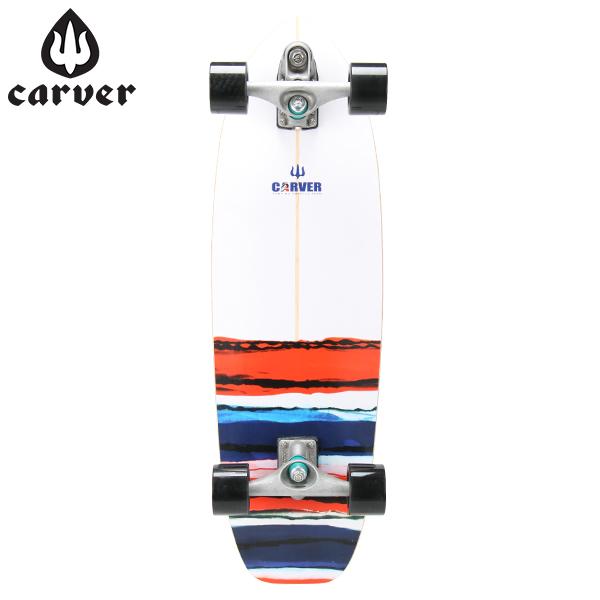 [全品最大15%OFFクーポン]Carver Skateboards カーバースケートボード C7 Complete 32.5 USA Resin USA レジン [glv15]