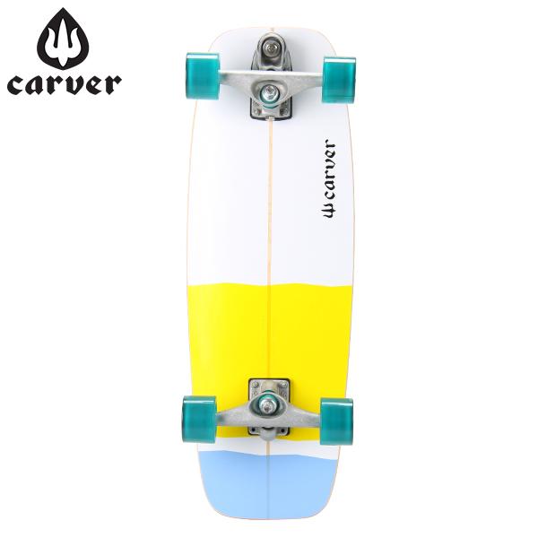 【全品15%OFFクーポン】Carver Skateboards カーバースケートボード 27.50 Minni Simmons ミニシモンズ (WHEELS65MM Aqua) アクア C7 Complete スケボー [glv15]