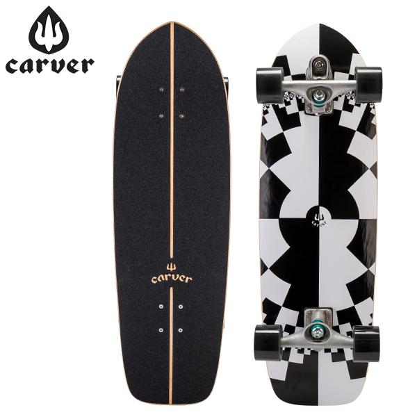 [全品最大15%OFFクーポン]Carver Skateboards カーバースケートボード C7 Complete 32 Fraktal フラクタル [glv15]