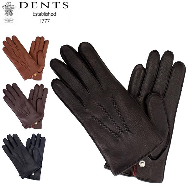 [全品最大15%OFFクーポン]デンツ Dents 手袋 メンズ レザー グローブ Windsor ディアスキン 鹿革 ウィンザー革 ファー 防寒 上質 15-1544 Gloves [glv15]