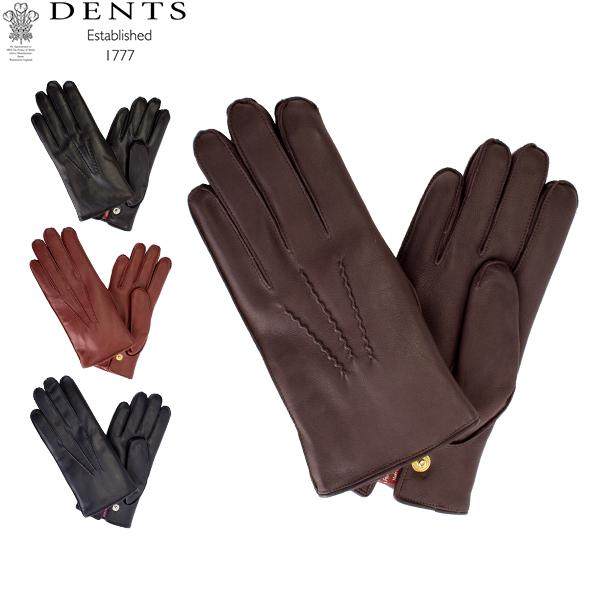 [全品最大15%OFFクーポン]デンツ Dents 手袋 メンズ Lumley レザーグローブ シープスキン 上質 革 レザー 羊革 ヘアシープ グローブGloves (M) 15-1590 [glv15]