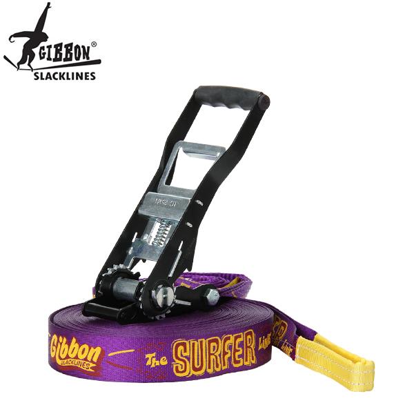 [全品最大15%OFFクーポン]Gibbon ギボン SURFER LINEサーファーライン Purple パープル 13860 スラックライン [glv15]