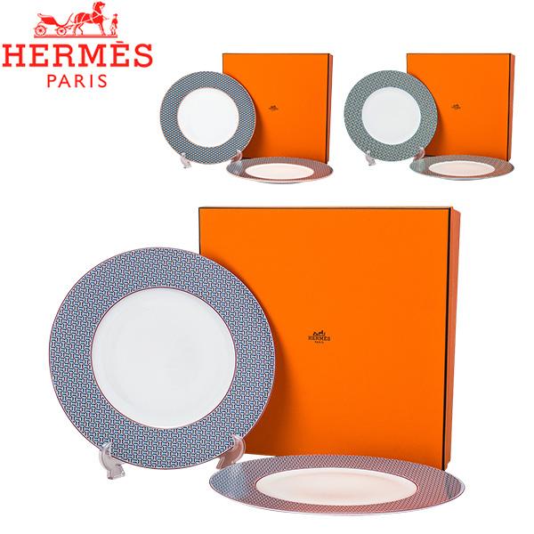[全品最大15%OFFクーポン]エルメス Hermes タイ・セット ディナープレート ペア 29.5cm 2枚セット TIE SET Dinner Plate プレート 皿 食器 [glv15]
