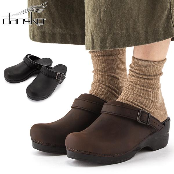 ダンスコ Dansko イングリッド クロッグス サンダル Ingrid Clogs サボ オイルド レザー レディース ストラップ付 シューズ 靴 [glv15] あす楽