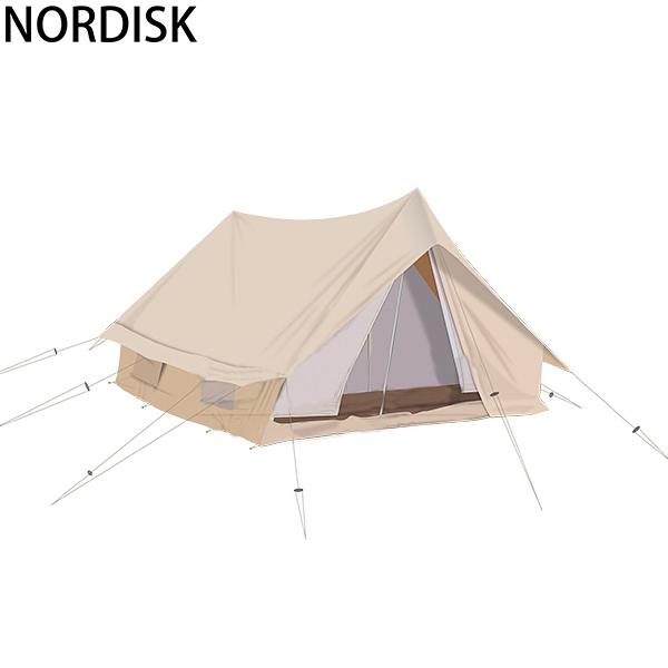[全品最大15%OFFクーポン]NORDISK ノルディスク Ydun ユドゥン 5.5 ナチュラル 142022 テント キャンプ アウトドア 北欧 [glv15]