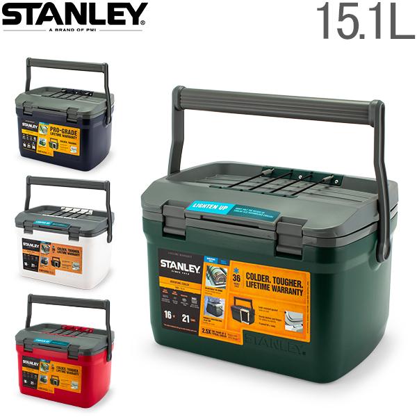 【全品15%OFFクーポン】スタンレー Stanley クーラーボックス 15.1L 保冷 クーラー アウトドア Adventure Cooler 10-01623 ランチクーラー 保冷力 キャンプ レジャー [glv15]