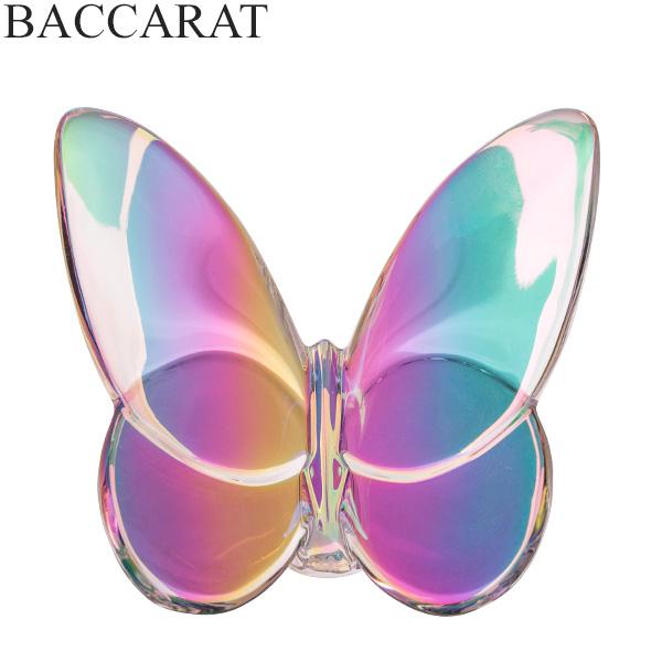 [全品最大15%OFFクーポン]バカラ Baccarat ラッキーバタフライ パピヨン フィギュア イリゼクリア 置物 2601482 Papilon Papillon オブジェ インテリア クリスタル [glv15]