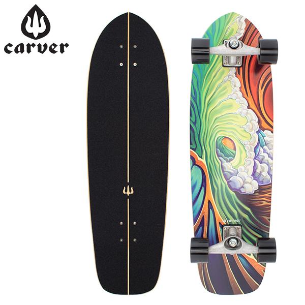 [全品最大15%OFFクーポン]カーバー スケートボード Carver Skateboards スケボー CX コンプリート 33.75インチ C1013011008 グリーンルーム Greenroom Complete [glv15]