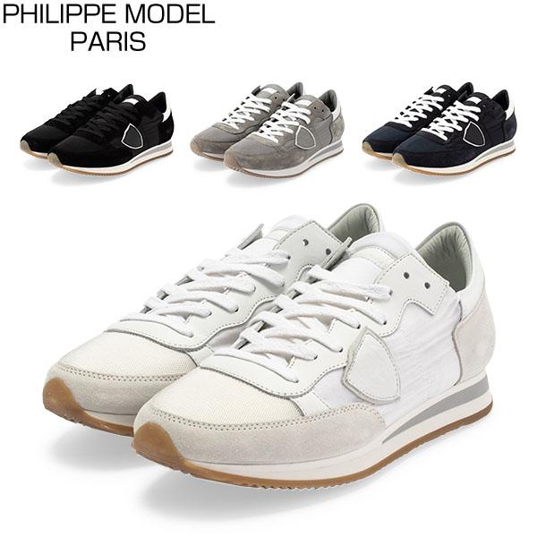 フィリップモデル パリ Philippe Model Paris スニーカー 靴 トロペ TRLU TROPEZ LOW UOMO BASIC シューズ メンズ カジュアル おしゃれ [glv15] あす楽