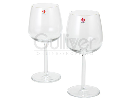 イッタラ ワイングラス センタ 6.7 x 19 × 7.8 北欧ブランド インテリア 食器 デザイン お洒落 レッドワイン 2個 クリア iittala Senta RED WINE 2 set 新生活 [glv15]