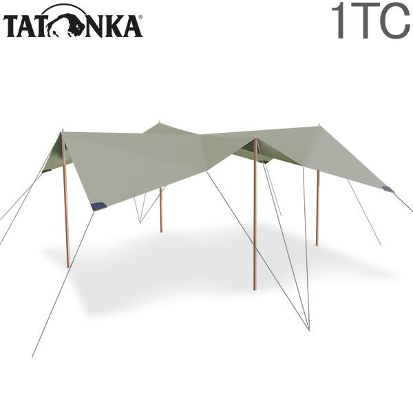 全品365日あす楽対応 タトンカ タープ 1TC 大きめ 大人数 難熱 レクタタープ 軽量 おしゃれ 焚き火 バーベキュー オープンタープ 撥水性 遮光性 強度 日よけ 焚火 収納袋 アウトドア 撥水 Sand 1 ドイツ キャンプ ポリコットン テント 遮光 2465 Tatonka 豪華な TC Tarp Beige 425×445cm 321 サンドベージュ オリジナル