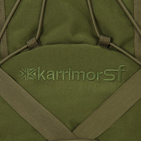 カリマー Karrimor リュックサック セイバーデルタ 25L バックパック M23010 オリーブグリーン Sabre Delta 25 Olive Green ミリタリー デイパック アウトドア アウトレット