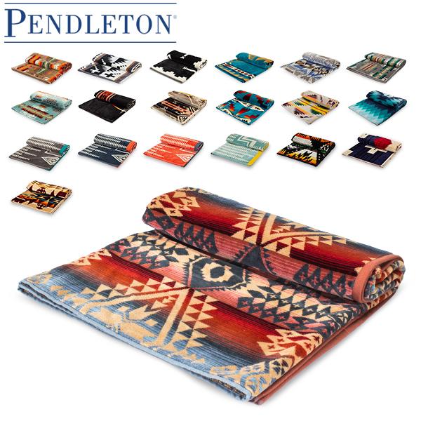 【あす楽】 ペンドルトン PENDLETON タオルブランケット オーバーサイズ ジャガード タオル XB233 Oversized Jacquard Towels 大判 バスタオル【5%還元】
