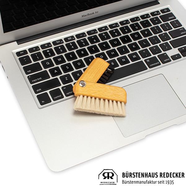 【365日あす楽対応】 レデッカー REDECKER ドイツ ブラシ 掃除 家庭用品 バス 最安値挑戦中 パソコン Redecker レデッカー ラップトップブラシ Black/White 460003 あす楽
