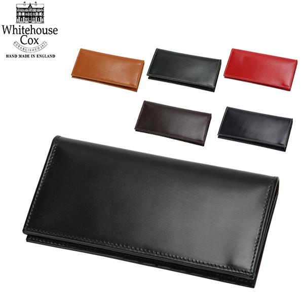 【全品あす楽】Whitehouse Cox ホワイトハウスコックス Fold Tab Purse CLOSE 9.0 × 17.5cm OPEN 19.5 × 17.5cm S9697 財布