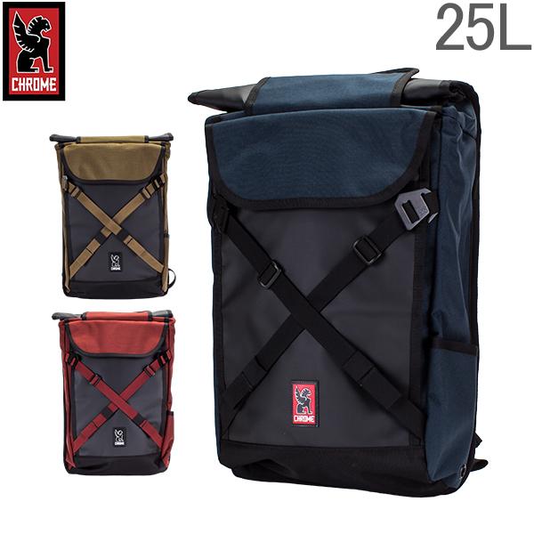 【最大200円OFFクーポン 4/16,01:59まで】クローム Chrome バックパック 25L ブラーボ 2.0 BG-190 Backpacks Bravo 2.0 リュック ロールトップ メンズ