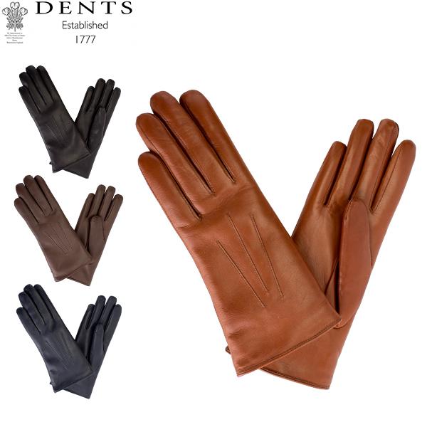 【最大200円OFFクーポン 4/16,01:59まで】デンツ Dents 手袋 レディース Ripley レザーグローブ シープスキン 上質 革 レザー 羊革 ヘアシープ グローブGloves (F) 17-1061