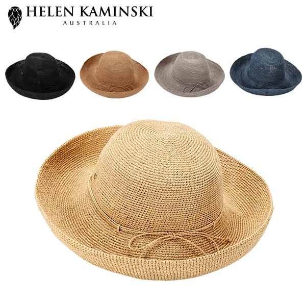 0e5836a9f5fe4c Rollable Kaminski UVカット 天然素材 Raffia 女優帽 紫外線対策 麦わら ...
