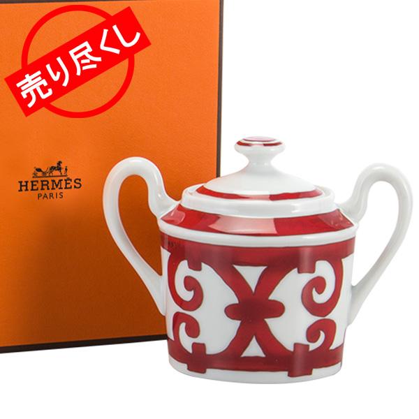 【5%還元】【あす楽】赤字売切り価格 Hermes エルメス Balcon du Guadalquivir Sugar bowl シュガーボウル 皿 17.5cl 011020P