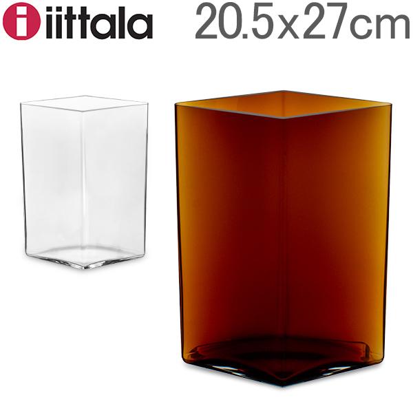 【全品あす楽】イッタラ Iittala ルーツ ベース Ruutu Vase 花瓶 20.5×27cm 101559 インテリア ガラス 北欧 フィンランド シンプル おしゃれ