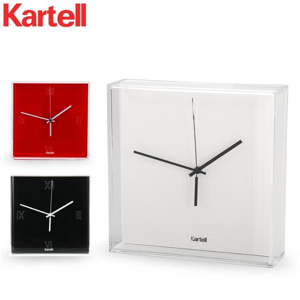 カルテル Kartell 時計 ティックタック 正規品 掛け時計 置き時計 おしゃれ インテリア 1900 Tic Tac Clock (Matte)