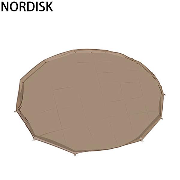 【5%還元】【あす楽】NORDISK ノルディスク アルヘイム19.6用 フロアシート (ジップインフロア) 2014年モデル ナチュラル 146013 テント キャンプ アウトドア 北欧