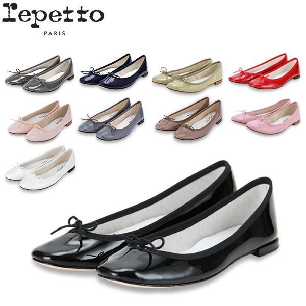 【ポイント2倍 4/16,01:59まで】レペット Repetto バレエシューズ サンドリヨン エナメル V086V MYTHIQUE FEMME CENDRILLON フラットシューズ レディース 革靴 かわいい レザー パテント
