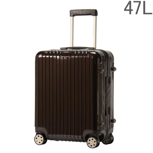 【ポイント2倍 4/16,01:59まで】リモワ RIMOWA 【4輪】 サルサ デラックス スーツケース マルチ 872.56 87256 【Salsa Deluxe 】 Multiwheel ブラウン 47L (830.56.52.4)