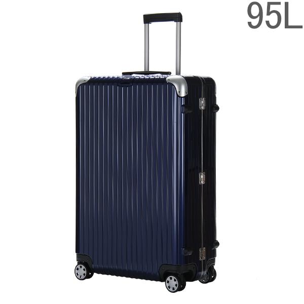 【ポイント2倍 4/16,01:59まで】リモワ RIMOWA リンボ 818.77 81877 マルチホイール 4輪 スーツケース ナイトブルー Multiwheel 95L (881.77.21.4)