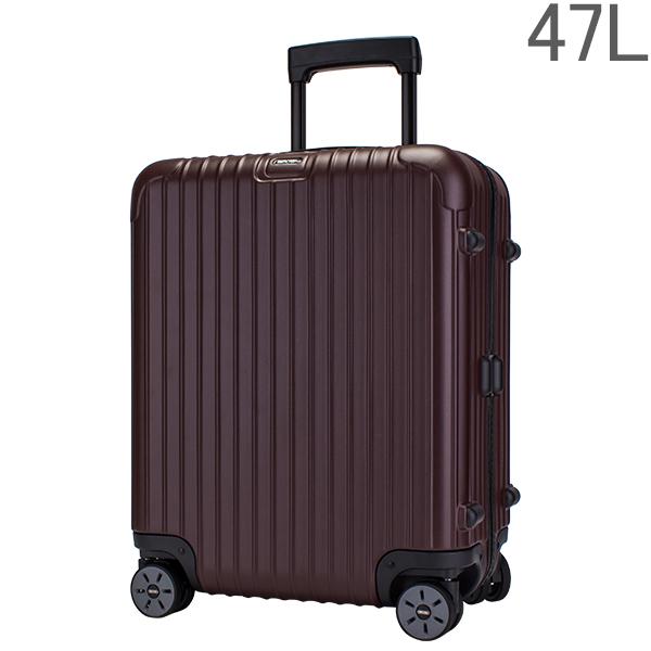 【ポイント2倍 4/16,01:59まで】リモワ RIMOWA サルサ 軽量 47L 4輪 マルチウィール スーツケース 810.56.14.4 マットカルモナレッド SALSA MultiWheel matte carmona red キャリーバッグ